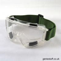 SMK Clear Airsoft Goggles with Vents